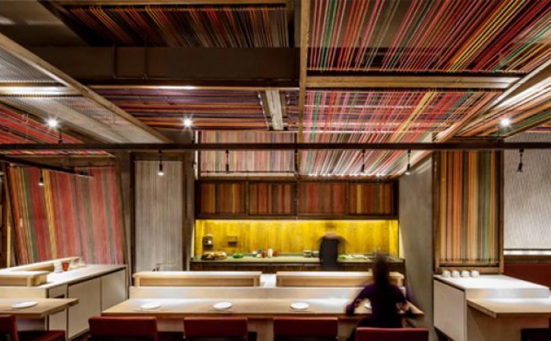 "Restaurant Pakta. El Equipo Creativo. Premi interiorisme ""Best Of Year 2013 Awards"". Fotografia: © Adrià Goula"