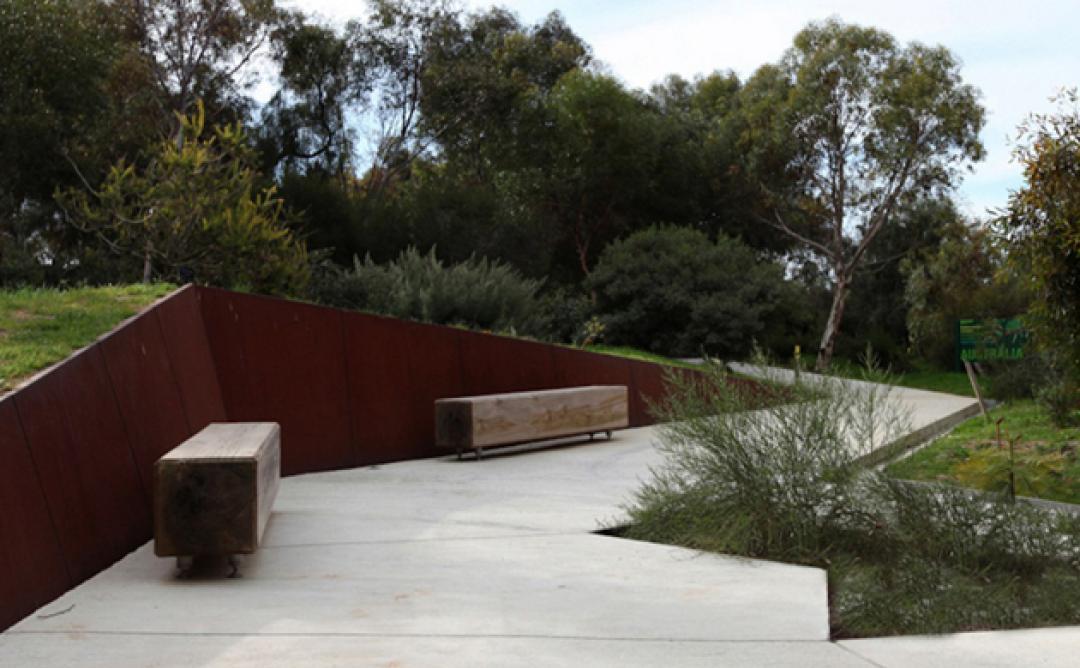 Ampliació del Jardí Botànic. Projecte presentat a la Mostra d'Arquitectura de Barcelona. Arquitectes: Carlos Ferrater i Núria Ayala. Foto: © Aleix Bagué