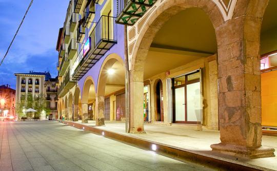 Urbanització del Centre de Ripoll, Premi MADA 2013 millor solució arquitectònica per a un entorn accessible. Comas Pont Arquitectes. Foto: © Els autors del projecte.